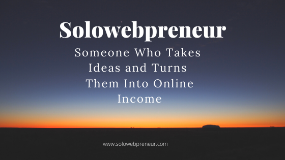 What is a Solowebpreneur?